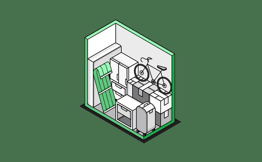 Trastero Pequeño en alquiler en nuestra empresa Trastero Málaga. Almacenes de pequeñas dimensiones para desahogo de casa. Guardar las bicicletas, ropa de invierno, adornos de navidad.