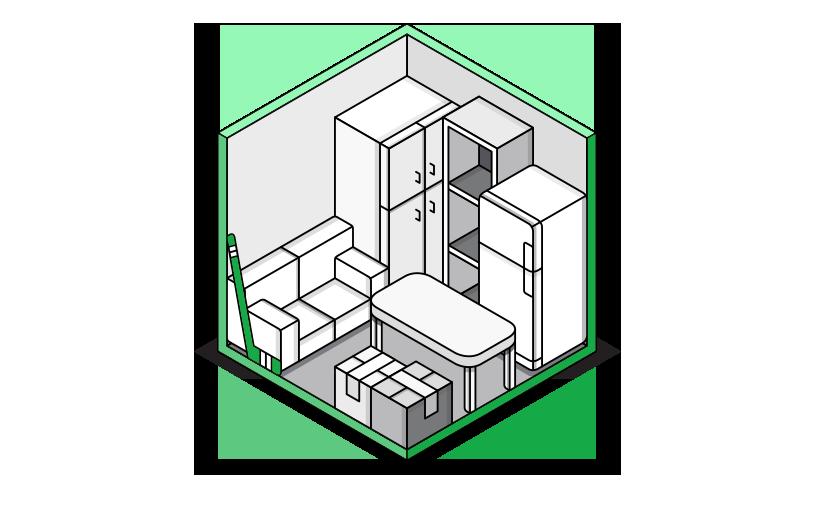 El Trastero Mediano que tenemos disponible en Trastero Málaga tiene las dimensiones ideales para guardar herramientas ó material para autónomos y empresas ó para almacenar lo que te resta espacio en una habitación de la casa.